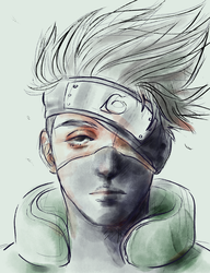 Kakashi by meltyfase