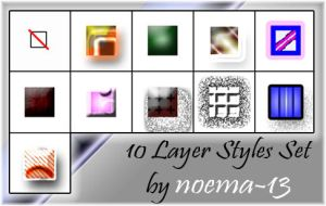 10 Layer Styles Set by noema-13