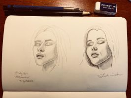 Face Study 2 by Lathminster