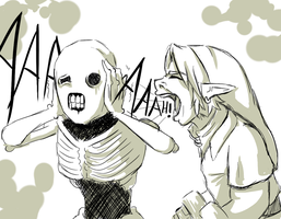 In Soviet Hyrule:You scream at ReDead by VallyCuts