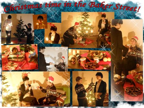 Christmas time in the Baker Street by XxGogetaCatxX