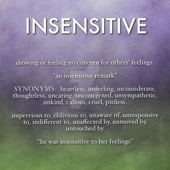 Insensitive by PinkWoods