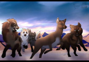 Caribou Hunt - Collab by JollyMutt