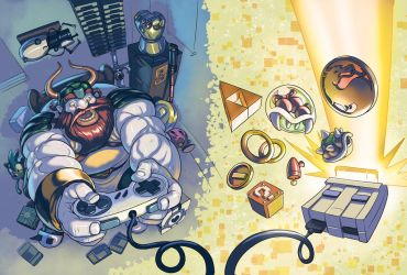 gamer dwarf DVD case cover by Onikaizer