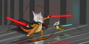 Request: Cubone vs Marowak by LuckyNeko13