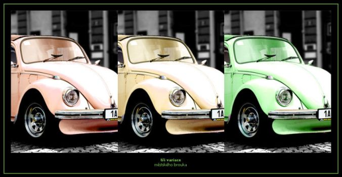 Three Variations of The Beetle by xcomex
