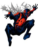 The Spectacular Spider-Man 2099 by DannyEX