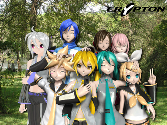 Crypton Future Media Inc. Vocaloids by AkitaFanZ