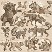 Sepia Pokemon