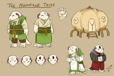The Moonface Tribe by smokewithoutmirrors