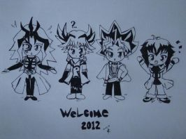 Welcome 2012 YUGIOH by MistressChi08