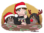 12 Sandy Days of Christmas - Tenth Day by Sandy--Apples
