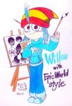 Willow with Epic World Style by komi114