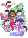Christmas With the Matsus - for Lou by RoFlo-Felorez