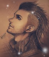 Nyx Ulric - Sketch by AikaXx