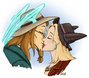 Kiss by Amadeo-Amadeo