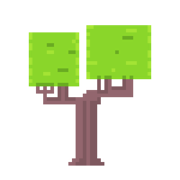 Pixel Tree 4 by CaptainToog