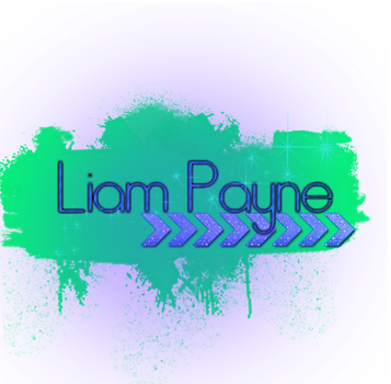 Texto PNG Liam by AleBieber