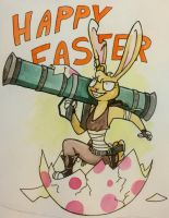 Happy Easter by Rowettes