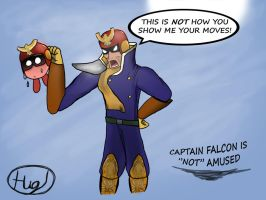 Captain Falcon is not amused 2 by Toxodentrail