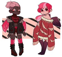 [Closed] wAy too early v-day adopts whoops by TheLocalVillain