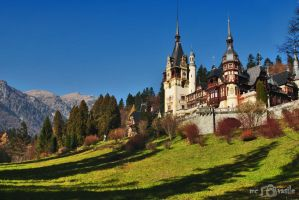 Peles Castle by michidutza