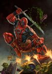 Deadpool No. 1 Variant by capprotti