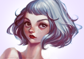 violet by AnaLuizaCG