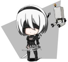 2B by Momo-chan70