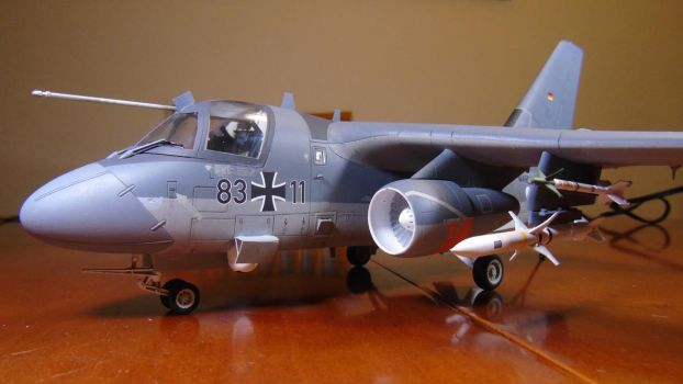 1/48 Scale S-3GC Viking (front) by Coffeebean2