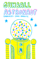 GUMBALL ASTRONAUT by laresistance