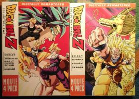 Dragonball Z Movie Packs 2 and 3 by JQroxks21