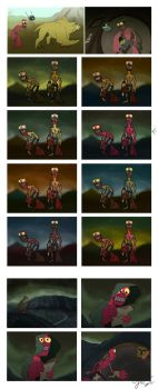 Graduation movie concepts by GalooGameLady