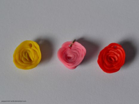 Polymer Roses by peppermint-ambi