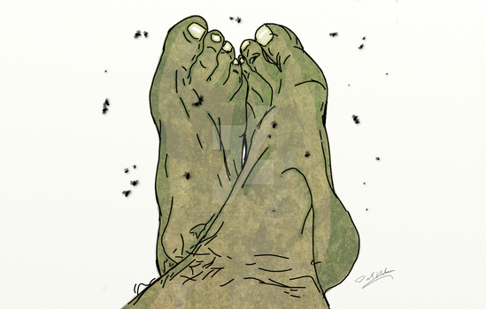 Orge's Feet by AncientWisemon