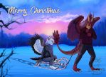 Merry Christmas by wolfgryph