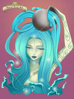 Aquarius by biancaloran