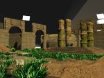 Old practice --- Ancient Ruin 04 by Linaerlight