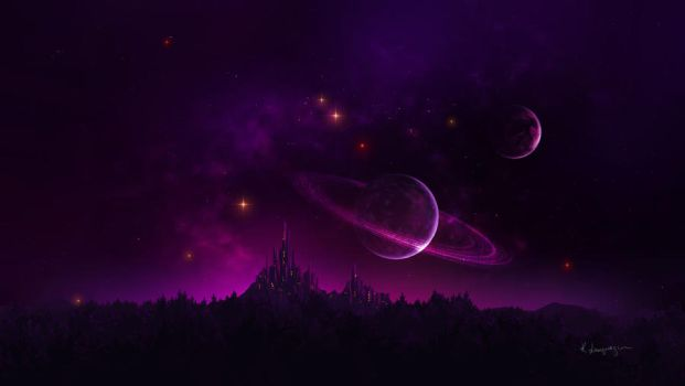 Amethyst night by CassiopeiaArt