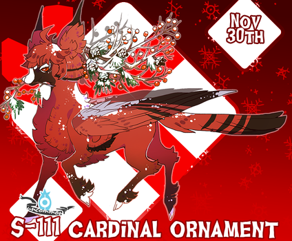 {Stygian Advent Day 11} Red Cardinal Ornament by Zoomutt