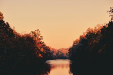 Autumn River by Sunira