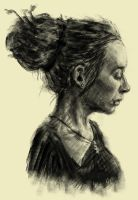 digital charcoal by mindschnapps