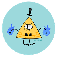 bill cipher. again. by Tinkalila