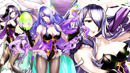 Fire Emblem Heroes - Bunny Camilla Wallpaper by AuroraMaster