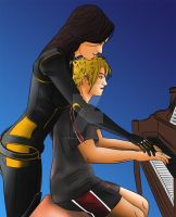 Piano lesson color by Vierna-Drottingu