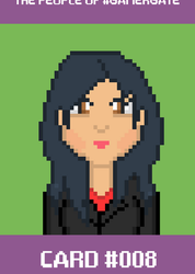 Pixelgate - People of Gamergate 08: Jennie Bharaj by CaptainToog
