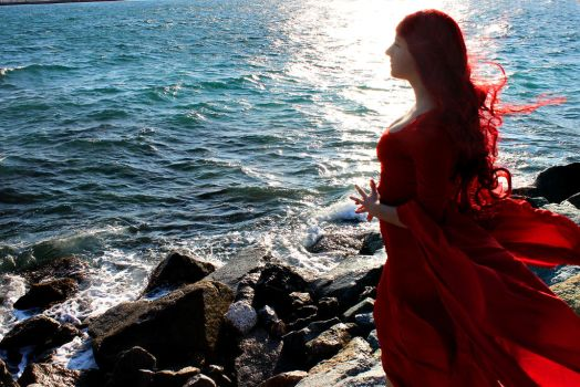 The Red Woman by Kalavel-Loki