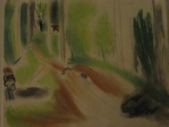 Drawing with Nature - First by felicia-angel