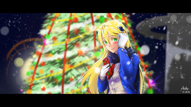 NV: Christmas at Kagutsuchi Port -5 Years After- by 4rcher