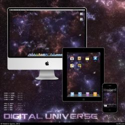 Digital Universe Wallpaper by IVV79